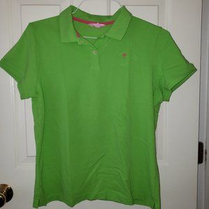 Lilly Pulitzer Lime Green Polo - Size XL